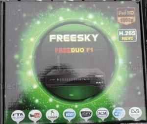Atualização freesky Freeduo F1 v.2.13 sks on - 18/06/2017