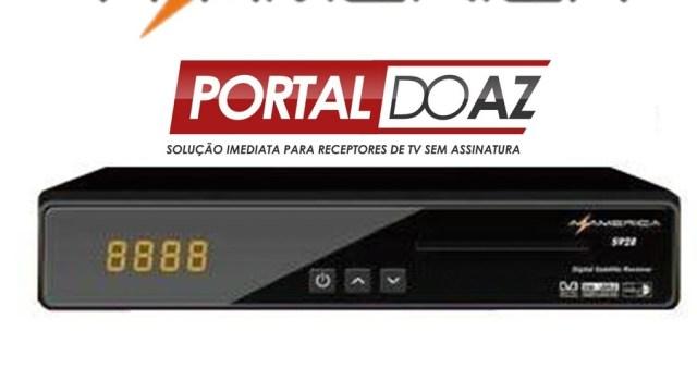 ATUALIZAÇÃO AZAMERICA S928 TRANSFORMADO - 13/05/2017