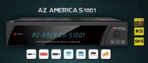 Ultima atualização Az américa s1001 HD v.1.09.17317 disponível para Download - Novembro 2016