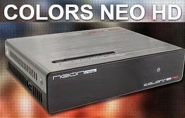 Atualização neonsat Colors neo v.F09 - 26 julho 2017