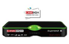 ATUALIZAÇÃO CINEBOX SUPREMO X - 07 SETEMBRO 2017