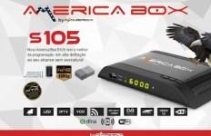 ATUALIZAÇÃO AMERICABOX S105 V.2.11 - 21 SETEMBRO 2017