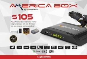 Atualização Americabox s105 v.2.07 sks 58w - junho 2017