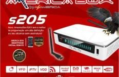 AMERICABOX S205 NOVA ATUALIZAÇÃO NOVEMBRO V.2.04 SKS 58W ESTAVEL - 30/11/2016