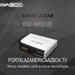 PRIMEIRA ATUALIZAÇÃO MEGABOX MG5 ACM DOWNLOAD DISPONÍVEL - 30/11/2016