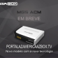 ATUALIZAÇÃO MEGABOX MG5 ACM V.1.47 - FEVEREIRO 2018
