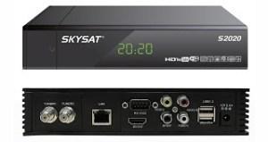 Atualização Skysat s2020 v.1.2070 - 14 Julho 2017