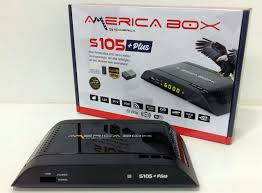 AMERICABOX S105 PLUS NOVA ATUALIZAÇÃO V.1.05 - JUNHO 28/06/2017