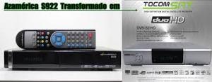 Atualização azamerica s922 en Tocomsat duo v.2.046 - 02 Julho 2017