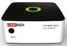 ATUALIZAÇÃO CINEBOX MAESTRO ULTRA + PLUS V1.30.3 - 15/02/2018
