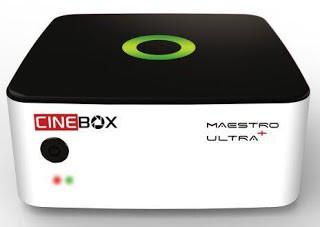 ATUALIZAÇÃO CINEBOX MAESTRO ULTRA + PLUS V.1.25 - 24 SETEMBRO 2017