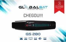 ATUALIZAÇÃO GLOBALSAT GS280 V.1.09.19214 - FEVEREIRO 2018