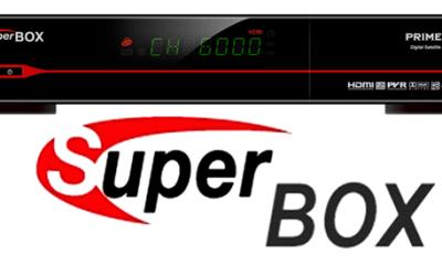 Atualização Superbox Prime Modificado - Download - 2018 Abril.