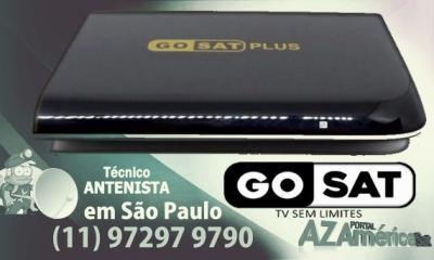 Atualização Gosat Plus HD