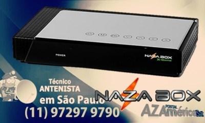 Atualização Nazabox X Game HD