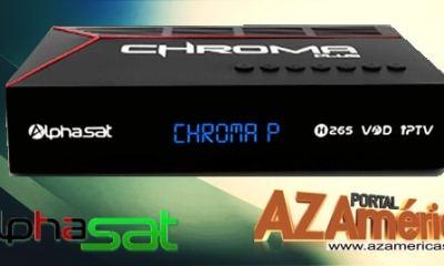Alphasat Crhoma Plus HD Nova Atualização