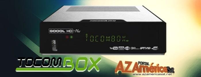 Tocombox Goool HD+ Plus Nova Atualização