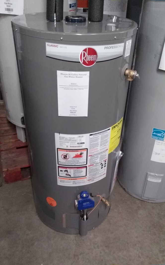 I Have A New Richmond 50 Gal Hot Water Heater And It Is Manual Guide