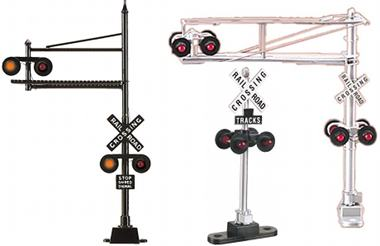 How to wire MTH Rail King operating crossing signals