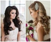loose curls hairstyles wedding