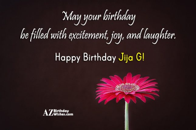 Birthday Wishes For Jiju Jija Ji