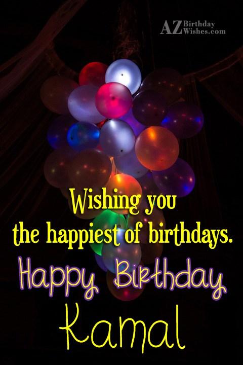 Happy Birthday Kamal