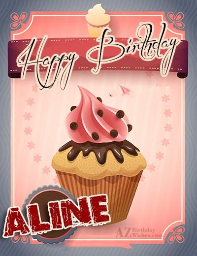 Happy Birthday Aline
