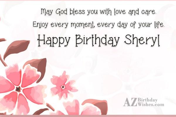 Happy Birthday Sheryl