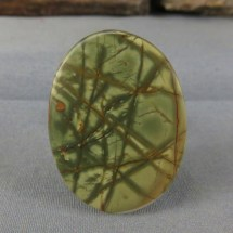 Cherry Creek Jasper Gemstone Cabochon