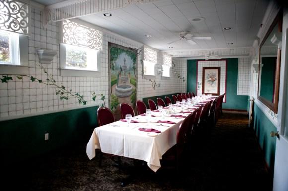 Wedding Officiant Landmark Restaurant Mesa Garden Room