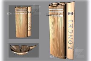 Espositore-personalizzato-portacinture-Longhi-Pitti-Uomo-2006-Firenze