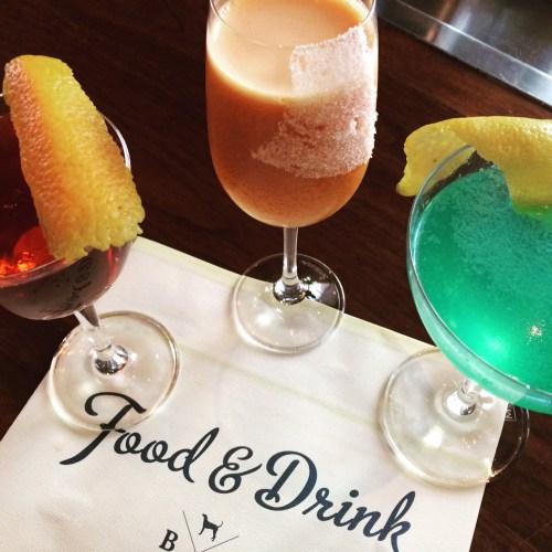 Blue Hound Cocktails