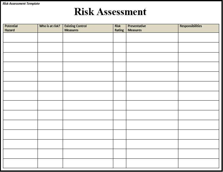 Is The Risk Controlled Plan Is Effective, Or Is Further Action Required?.  Here You Are Provided With Ready To Use Templates Which Will Assist You By  ...