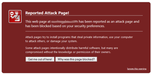 Sites that don't use security service get hacked
