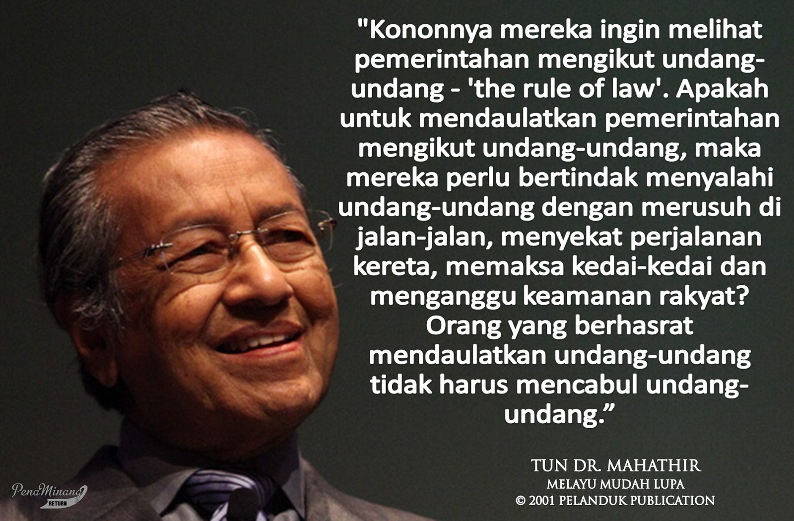 Wallpaper Tribute to Tun Dr Mahathir Mohamad  Azhanco