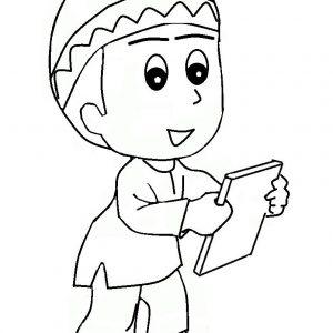 List Anak Kecil Kartun Mewarnai Pict Pictures Koleksi Mewarnakan Gambar