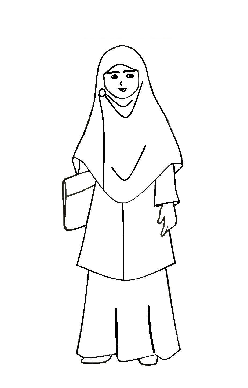 Galeri Gambar Kartun Muslimah Kuliah Gambarcarton