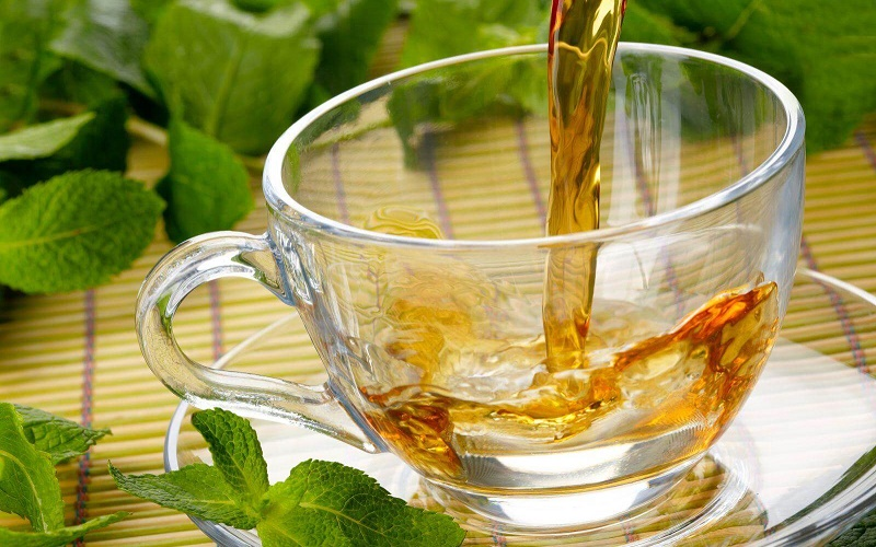 Green and Herbal Tea