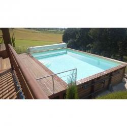 piscine bois linea 6 50 x 3 50 x h1 40m