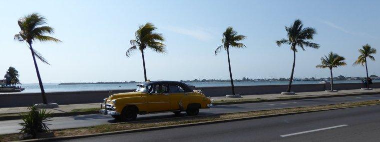 Klassiek Cuba plaatje. Cienfuegos