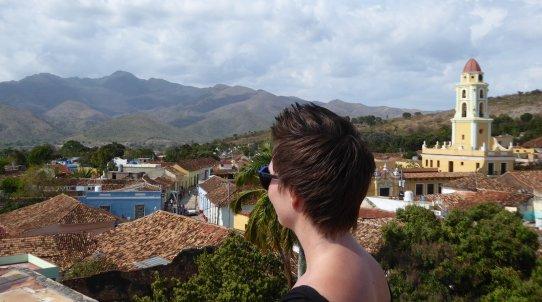 Even genieten van het uitzicht. Trinidad