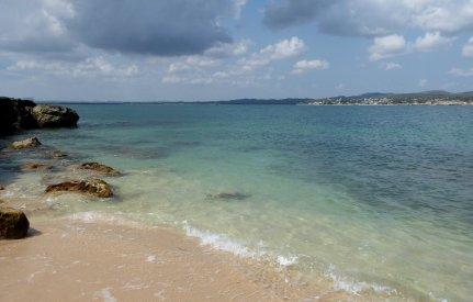 Ons privé strandje bij Gibara.