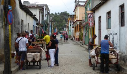 Straatmarktje. Baracoa