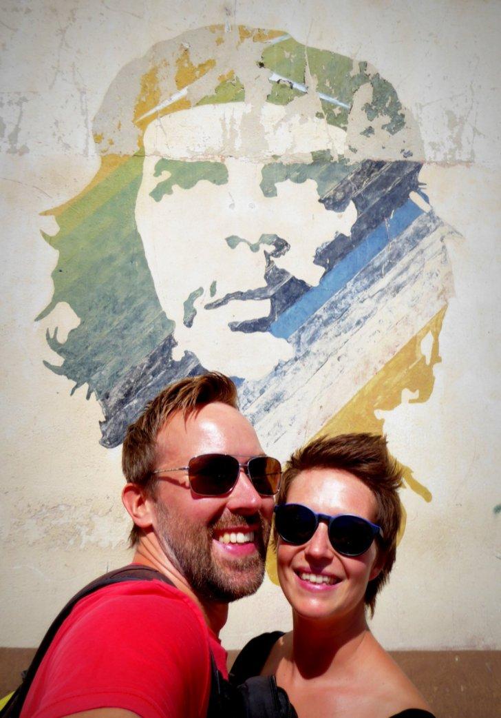 Wij bij Ché. Havanna