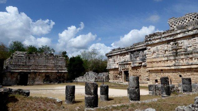 Tja, nog meer mooie tempels. Chichén Itza