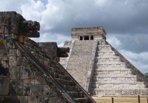 De piramide blijft mooi. Chichén Itza