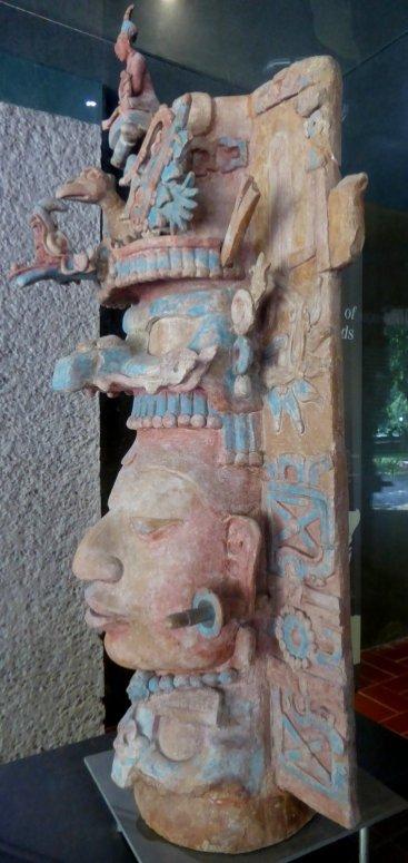 De Maya's konden ook best goed kleien. Palenque