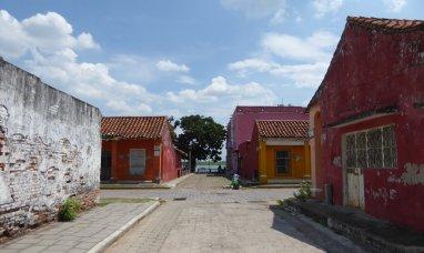 Kleurijke huisjes in Tlacotalpan.