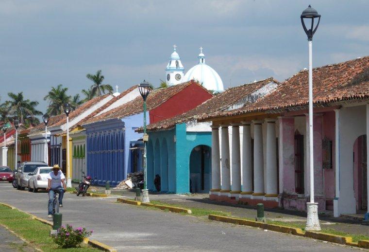Cuba-achtig Tlacotalpan.