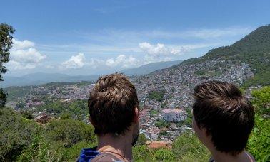 Even genieten van de Chedrau in Taxco.